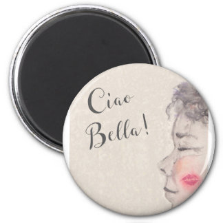 Ciao Bella Original Watercolor Magnet
