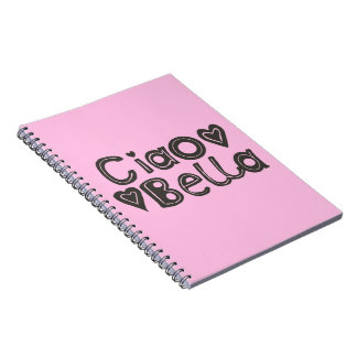 Ciao Bella Pink Notebook