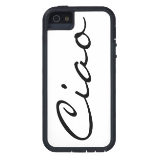 Ciao hello Italian funny hipster trendy modern iPhone SE/5/5s Case