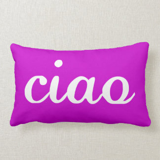 CIAO - Italiano - modifiqúelo para requisitos part Cojin
