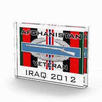 CIB Afghanistan Acrylic Award