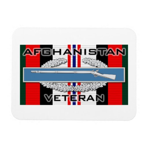CIB Afghanistan Rectangle Magnets