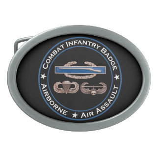 CIB Airborne Air Assault Belt Buckle