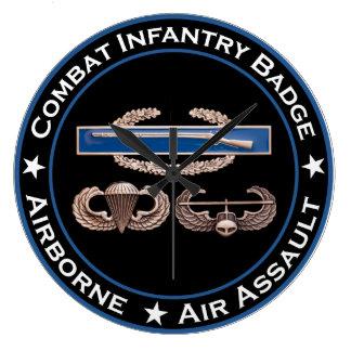 CIB Airborne Air Assault Clocks