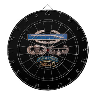 CIB Airborne Air Assault SF Ranger Dartboard