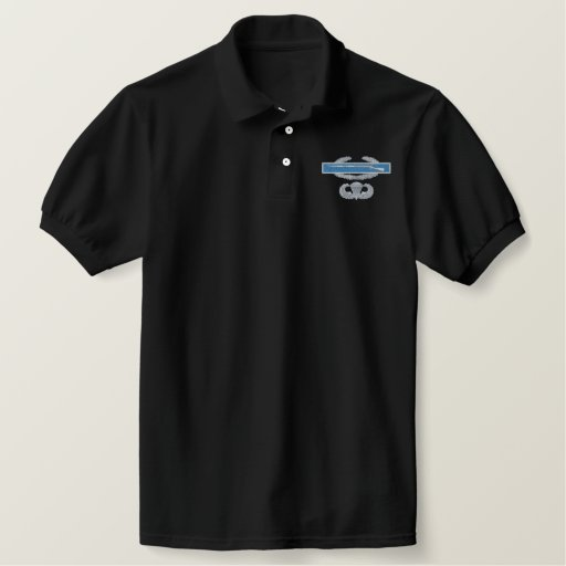 CIB Airborne Embroidered Polo Shirt
