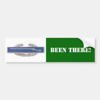CIB badge, BEEN THERE! Bumper Sticker