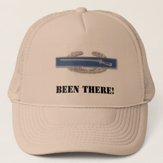 CIB badge, BEEN THERE! Trucker Hat