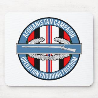 CIB de Afganistán OEF Mousepads