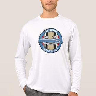 CIB de la campaña de Iraq Camiseta