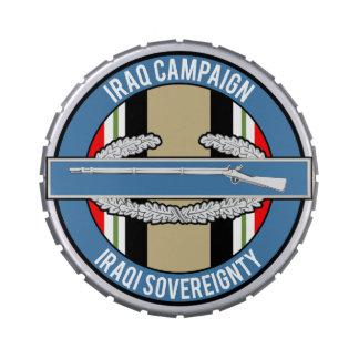 CIB de la campaña de Iraq Jarrones De Dulces