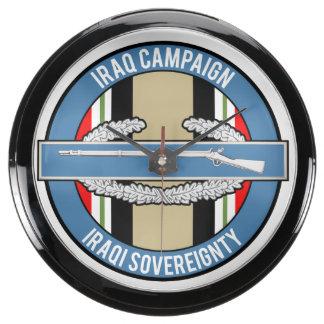 CIB de la campaña de Iraq Reloj Pecera