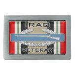 CIB Iraq Veteran Belt Buckles