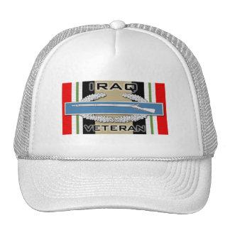 CIB Iraq Veteran Trucker Hat