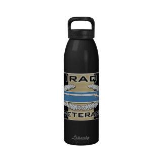 CIB Iraq Veteran Reusable Water Bottles