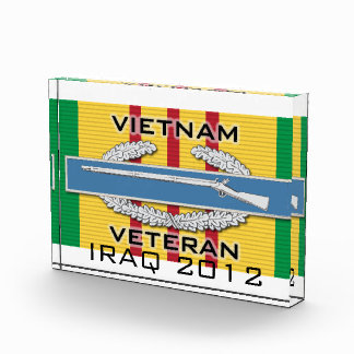 CIB Vietnam Veteran Acrylic Award