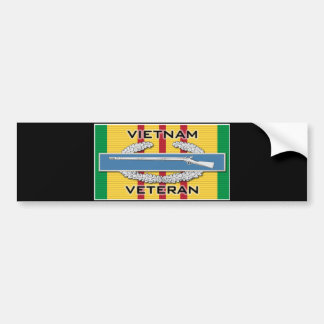 CIB Vietnam Veteran Bumper Stickers