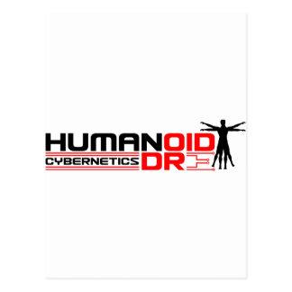 Cibernética de Humandroid Tarjetas Postales