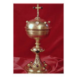 Ciborium, gilt and set with amethyst, rubies and p personalized announcements