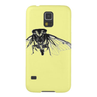 Cicada in Yellow Galaxy S5 Cover