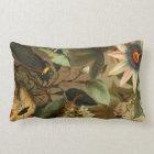 Cicada Lantern Bug Insect Pillow Vintage Wild Art