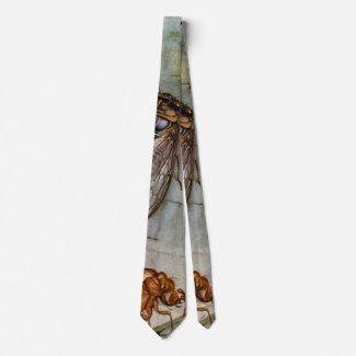 Cicada Life Cycle 1921 Neck Tie