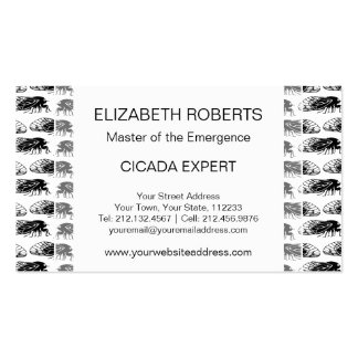 Cicada - Magicicada - Emergence Elegant Pattern Business Card
