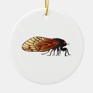 Cicada - Magicicada - Emergence of Amazing Insect Ceramic Ornament