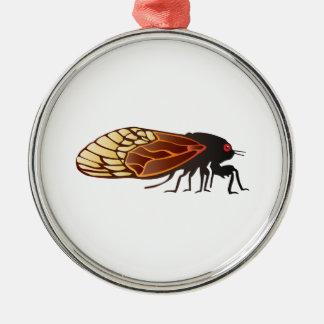 Cicada - Magicicada - Emergence of Amazing Insect Metal Ornament