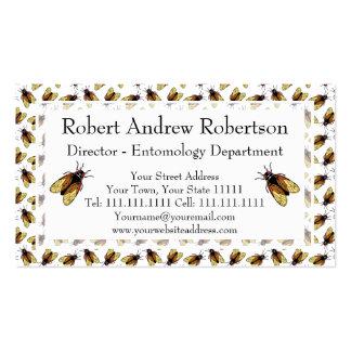 Cicada - Magicicada - Insect Lover, Entomologist Business Card