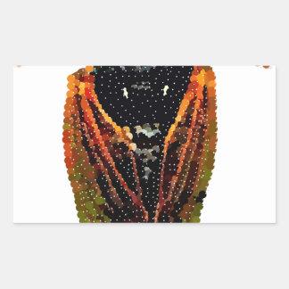Cicada Rectangular Sticker