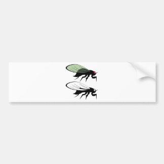 Cicada vector bumper sticker