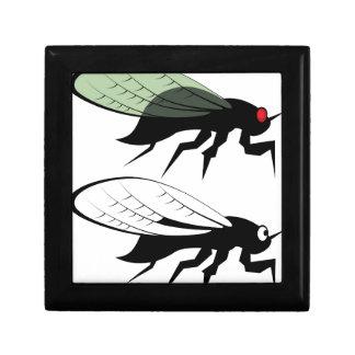Cicada vector jewelry box