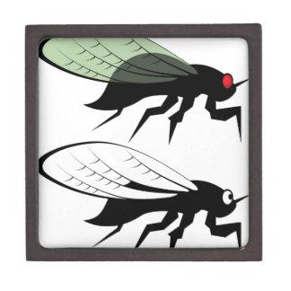 Cicada vector keepsake box