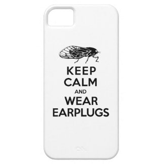 CICADAS are Here! Keep Calm and Wear Earplugs iPhone SE/5/5s Case