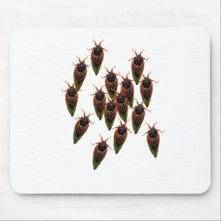 cicadas mouse pad