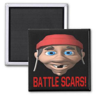Cicatrices de la batalla imán