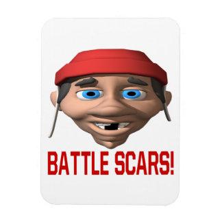 Cicatrices de la batalla iman
