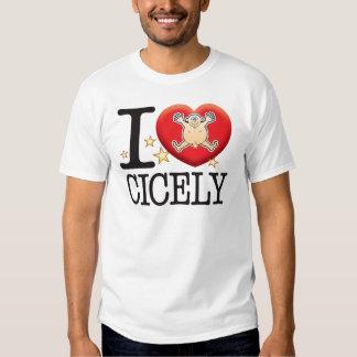 Cicely Love Man Tee Shirt