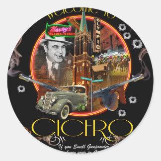 Cicero Classic Round Sticker