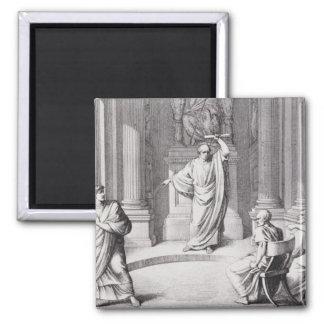 Cicero Denouncing Catiline Magnet