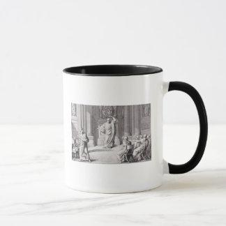 Cicero Denouncing Catiline Mug