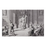 Cicero Denouncing Catiline Poster