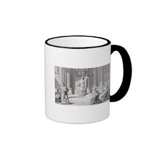 Cicero Denouncing Catiline Ringer Mug