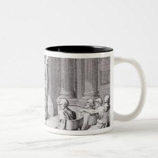 Cicero Denouncing Catiline Two-Tone Coffee Mug