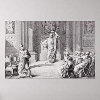 Cicero denunci Catiline Impresiones