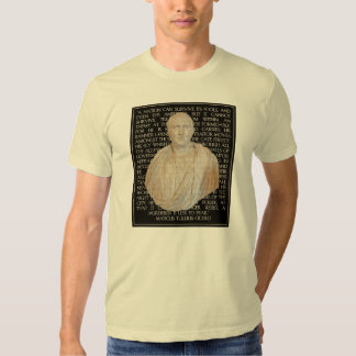 Cicero Quote on Traitors:  Enemy Within the Gates Tee Shirt