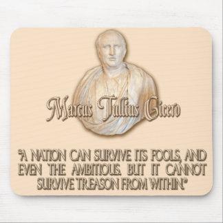 Cicero Quote on Treason Mouse Pad