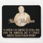 Cicero Quote on Treason Mouse Pad