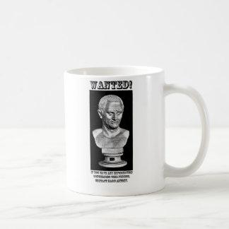 Cicero Wanted (English) Coffee Mug